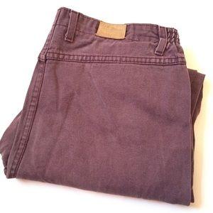 """Vintage LL Bean high rise jeans elastic waist 36"""""""